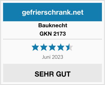Bauknecht GKN 2173 Test