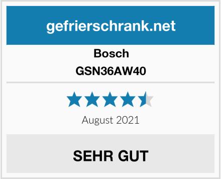 Bosch GSN36AW40 Test