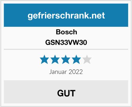 Bosch GSN33VW30 Test