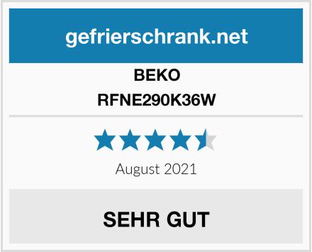 BEKO RFNE290K36W Test