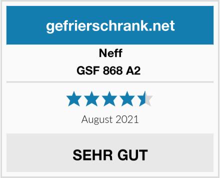 Neff GSF 868 A2  Test
