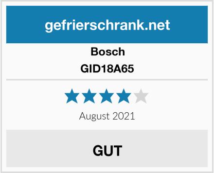 Bosch GID18A65 Test