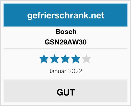 Bosch GSN29AW30 Test