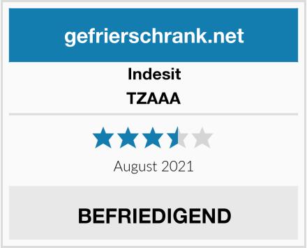Indesit TZAAA Test