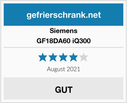 Siemens GF18DA60 iQ300 Test