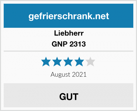 Liebherr GNP 2313 Test