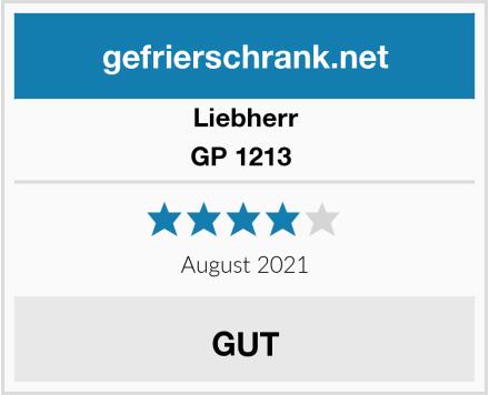 Liebherr GP 1213  Test