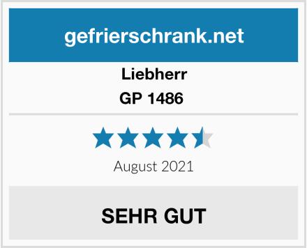 Liebherr GP 1486  Test