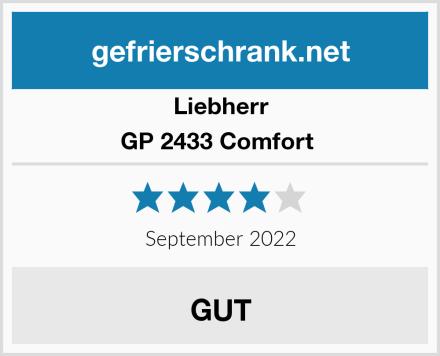 Liebherr GP 2433 Comfort  Test