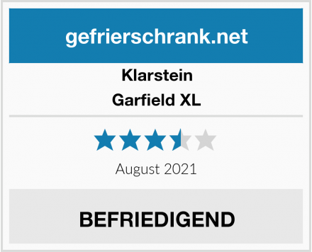 Klarstein Garfield XL Test