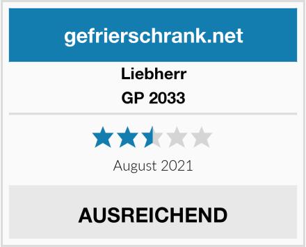 Liebherr GP 2033 Test