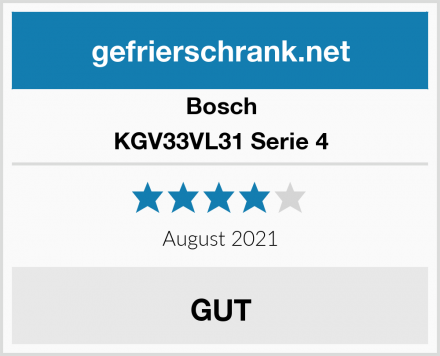 Bosch KGV33VL31 Serie 4 Test