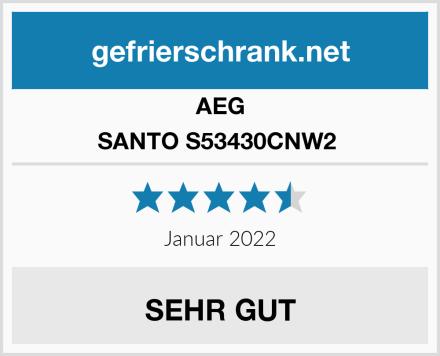 AEG SANTO S53430CNW2  Test