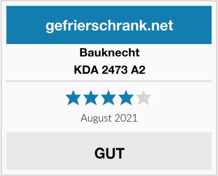 Bauknecht KDA 2473 A2 Test