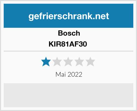 Bosch KIR81AF30  Test
