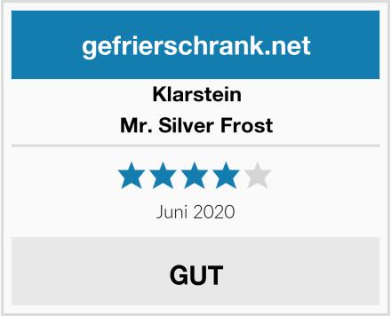 Klarstein Mr. Silver Frost Test