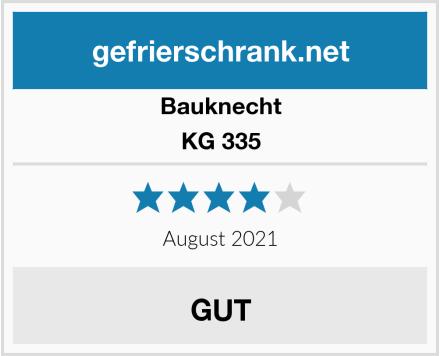 Bauknecht KG 335 Test