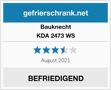 Bauknecht KDA 2473 WS Test