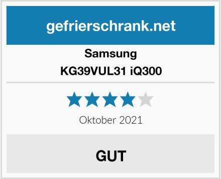 Samsung KG39VUL31 iQ300 Test