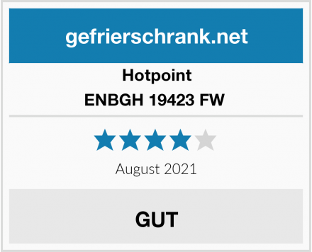 Hotpoint ENBGH 19423 FW  Test