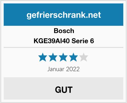 Bosch KGE39AI40 Serie 6 Test
