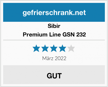 Sibir Premium Line GSN 232 Test