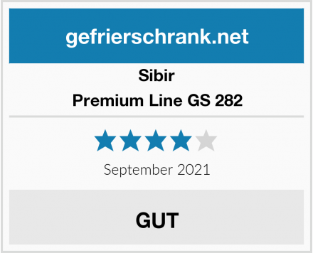 Sibir Premium Line GS 282 Test