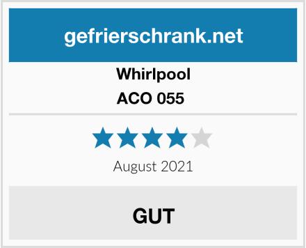 Whirlpool ACO 055  Test