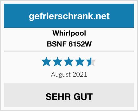 Whirlpool BSNF 8152W Test