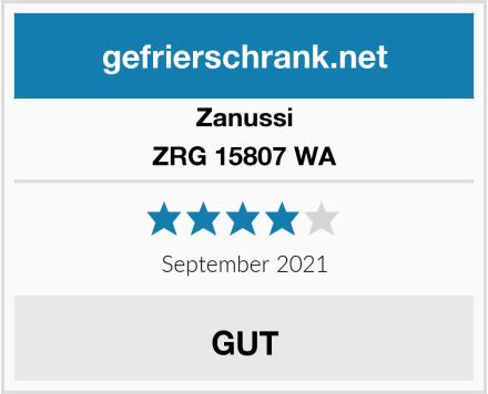Zanussi ZRG 15807 WA Test