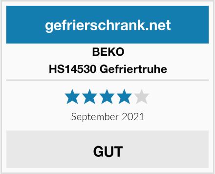 BEKO HS14530 Gefriertruhe Test