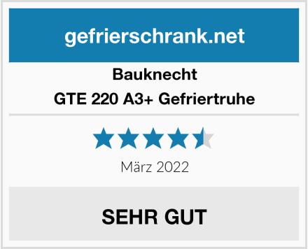Bauknecht GTE 220 A3+ Gefriertruhe Test