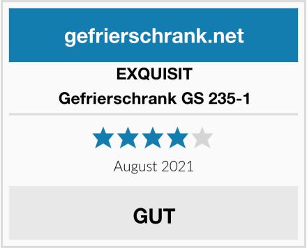 EXQUISIT Gefrierschrank GS 235-1 Test