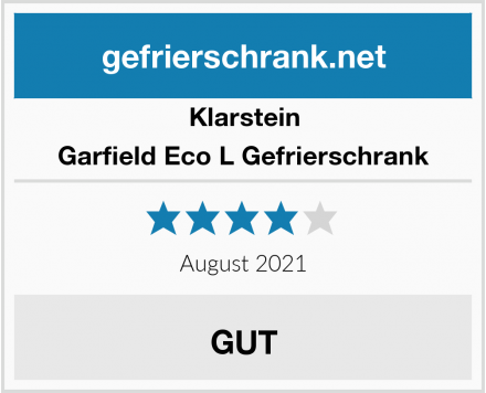 Klarstein Garfield Eco L Gefrierschrank Test