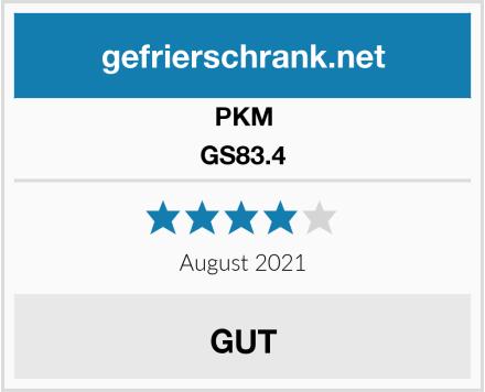 PKM GS83.4 Test