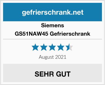 Siemens GS51NAW45 Gefrierschrank Test