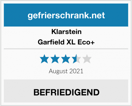 Klarstein Garfield XL Eco+ Test