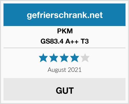 PKM GS83.4 A++ T3 Test
