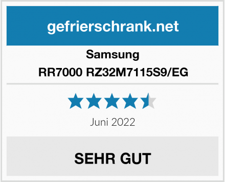 Samsung RR7000 RZ32M7115S9/EG Test