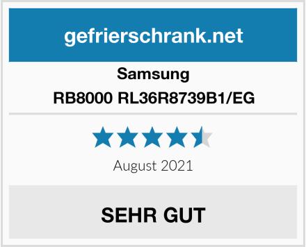 Samsung RB8000 RL36R8739B1/EG Test
