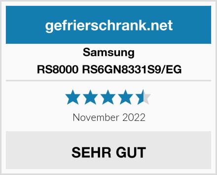 Samsung RS8000 RS6GN8331S9/EG Test