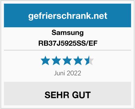 Samsung RB37J5925SS/EF Test