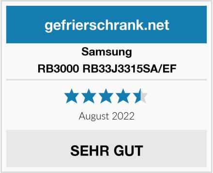 Samsung RB3000 RB33J3315SA/EF Test