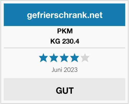 PKM KG 230.4 Test