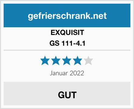 EXQUISIT GS 111-4.1 Test