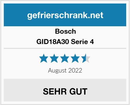 Bosch GID18A30 Serie 4 Test