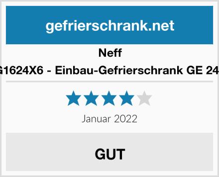 Neff G1624X6 - Einbau-Gefrierschrank GE 244 Test