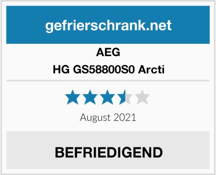 AEG HG GS58800S0 Arcti Test