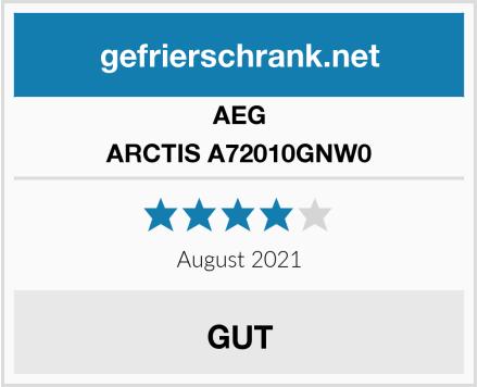 AEG ARCTIS A72010GNW0 Test