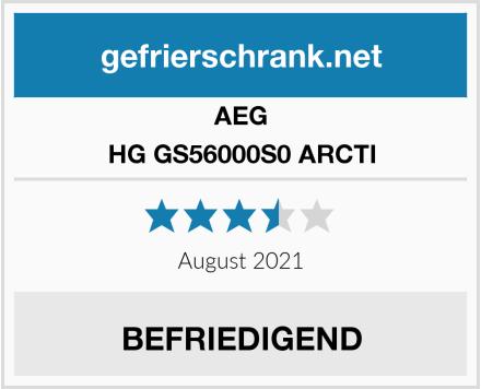 AEG HG GS56000S0 ARCTI Test